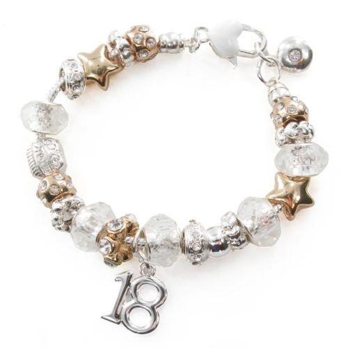 18th Birthday Charm Bracelet In Gift Box CB570